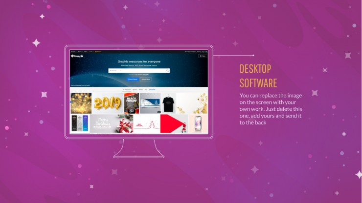 Colorful Galaxy presentation template