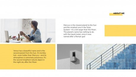 Plantilla de presentación Portafolio de arquitecto