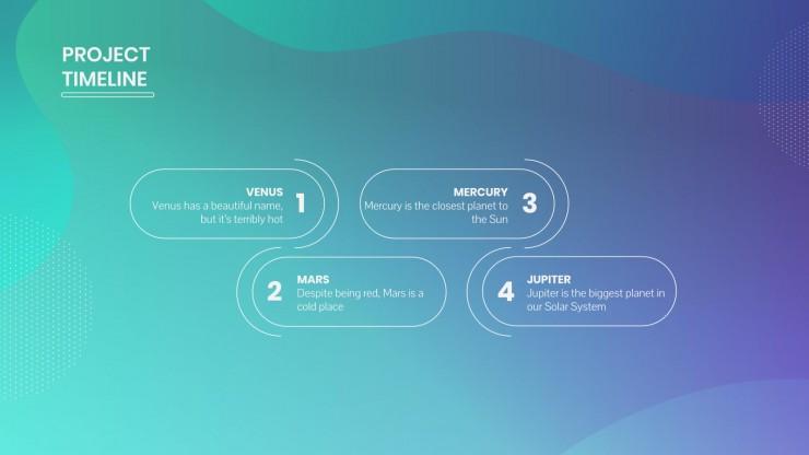 Modelo de apresentação Reunião de negócios com modelo abstrato