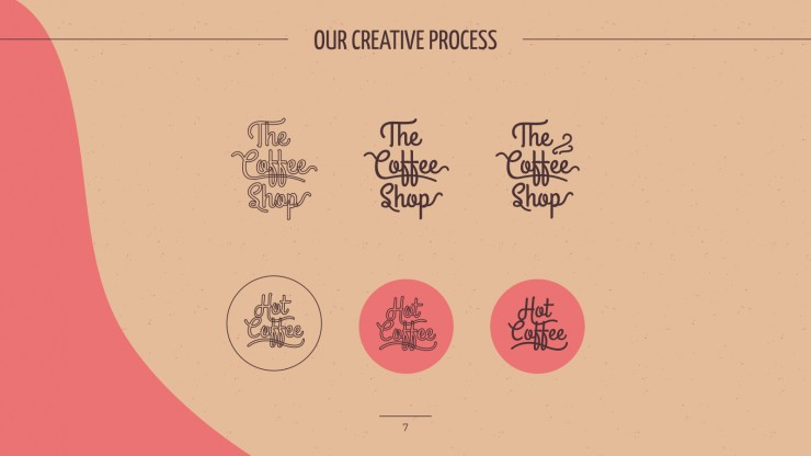 The Coffee Shop Brand presentation template