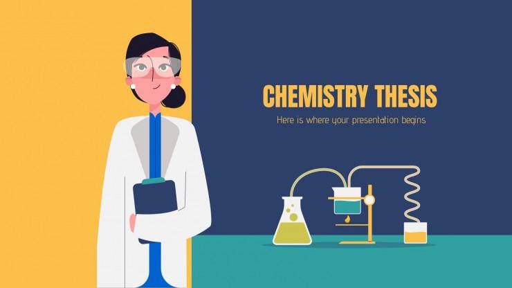 Mémoire de chimie