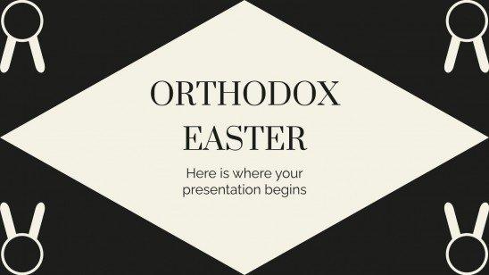 Modelo de apresentação Páscoa ortodoxa