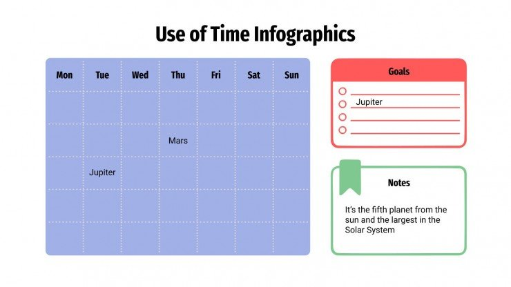 Use of Time Infographics presentation template