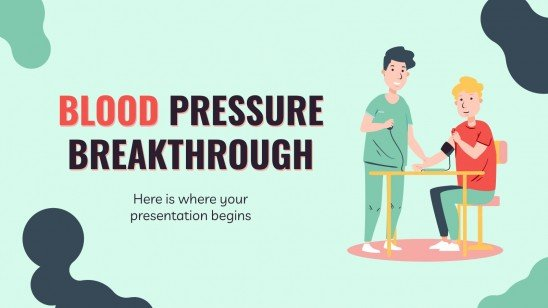Blood Pressure Breakthrough presentation template