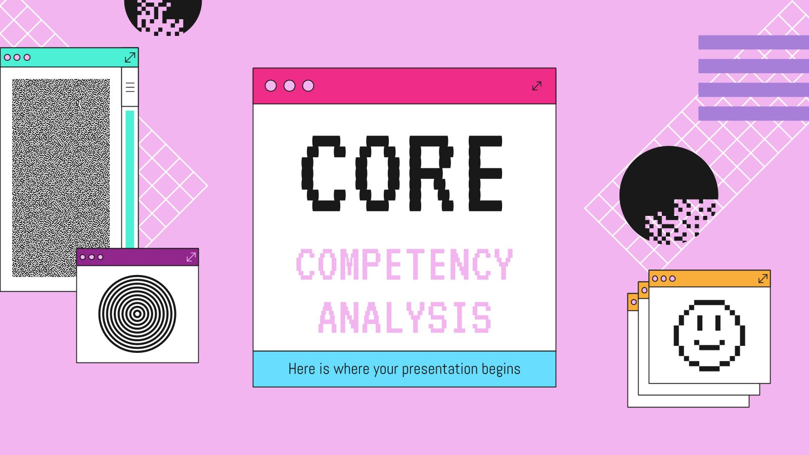 Core Competency Analysis presentation template
