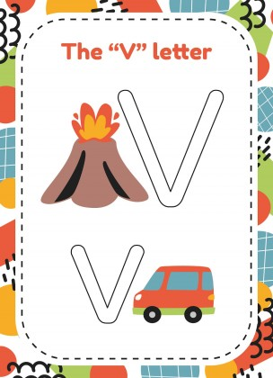 Modelo de apresentação Alfabeto em massinha para a pré-escola