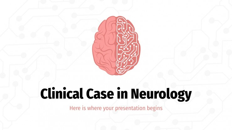 Clinical Case in Neurology presentation template