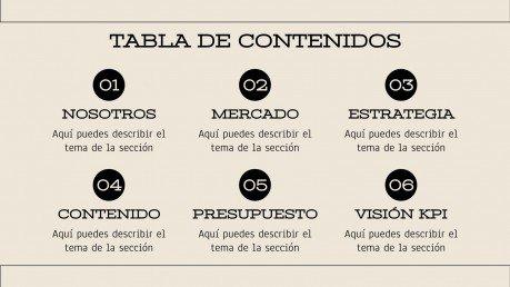 Somos Una Piña : Modèles de présentation