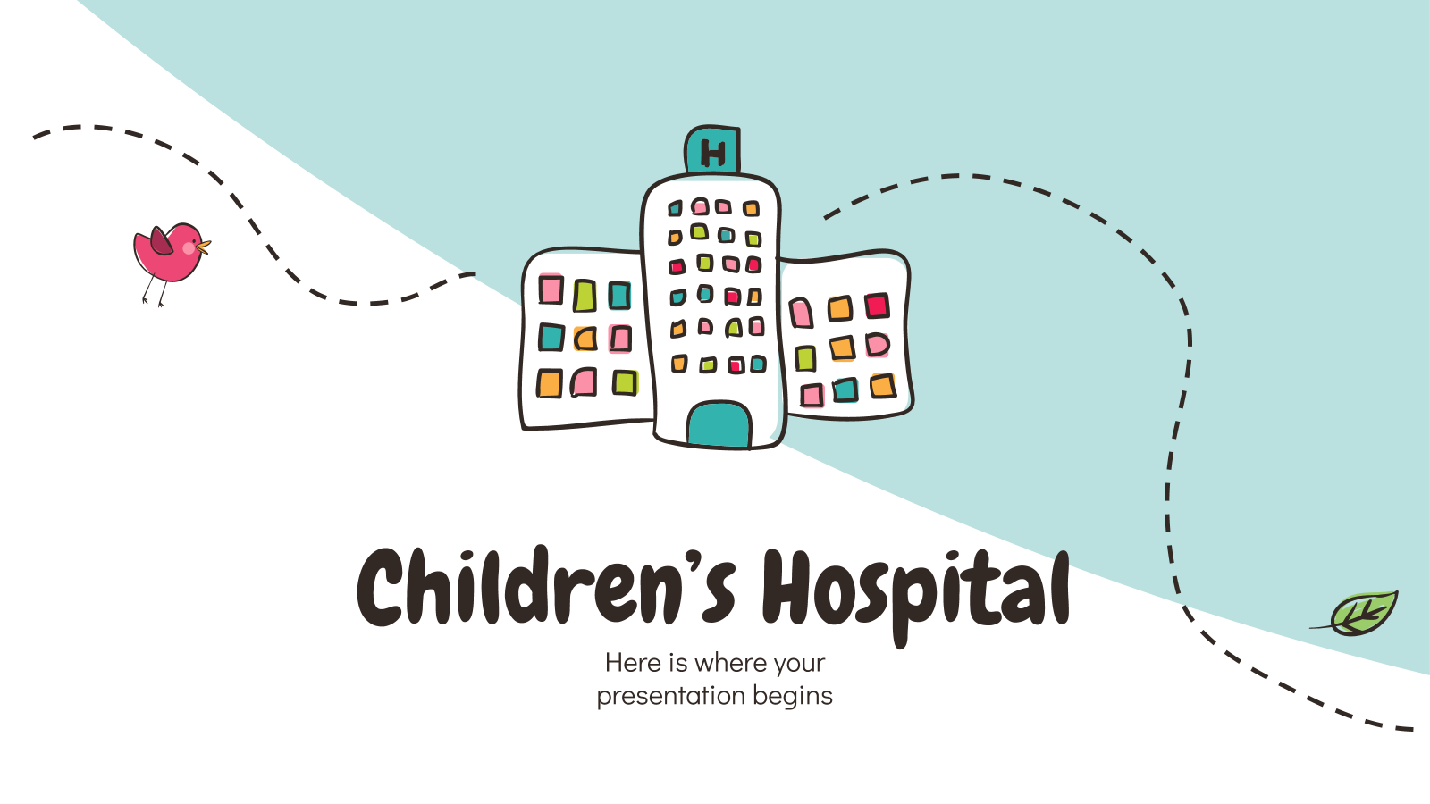 Children's Hospital presentation template