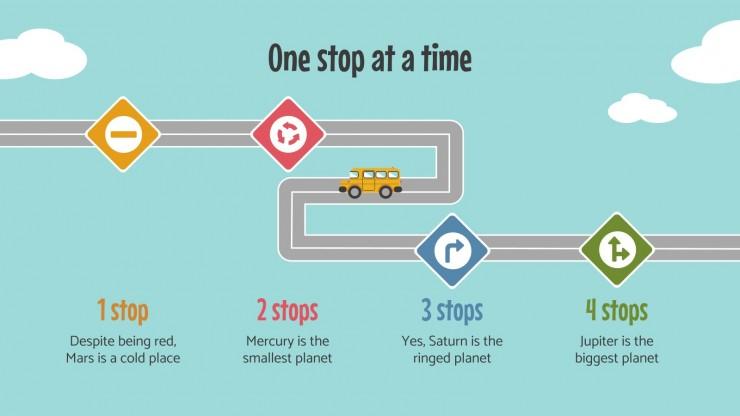 Modelo de apresentação Dia do Motorista de Ônibus Escolar