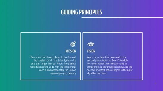 Stratégie de réseaux sociaux dégradé et isométrique : Modèles de présentation