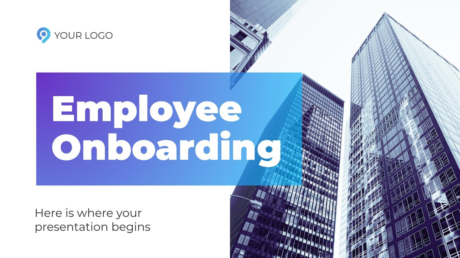 Employee Onboarding presentation template