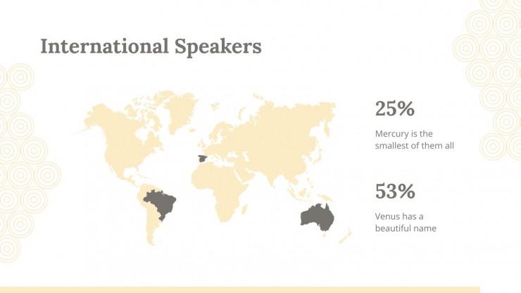 Modelo de apresentação Oficina de oratória