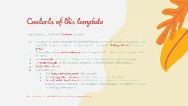 Fall Time presentation template