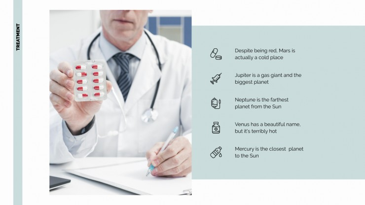 Minimalist Disease presentation template