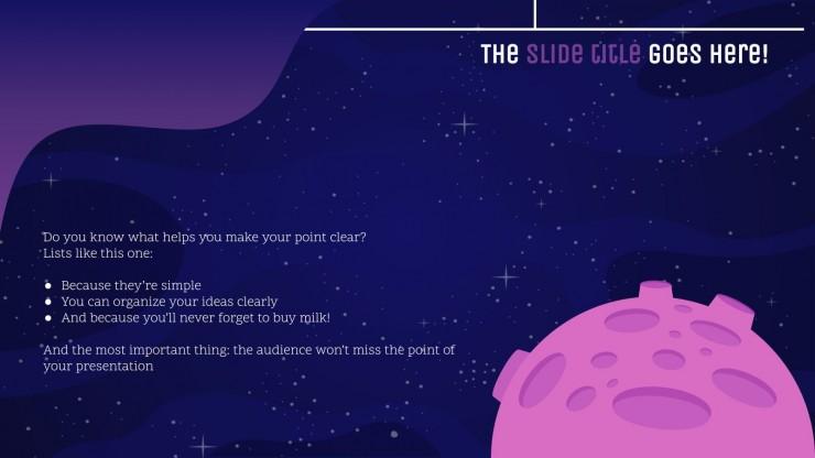 Galaxy Gradient presentation template