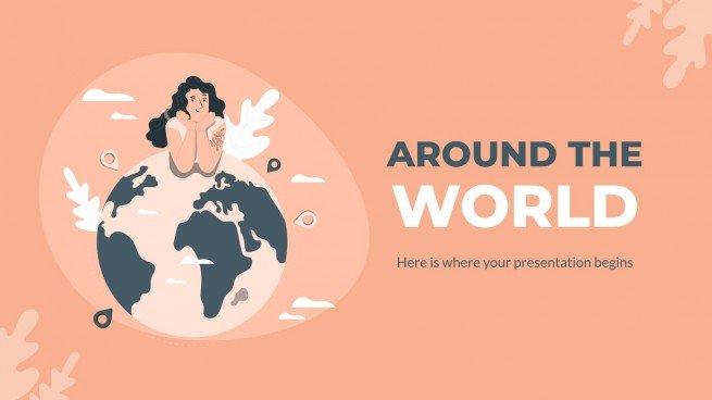 Autour du monde : Modèles de présentation