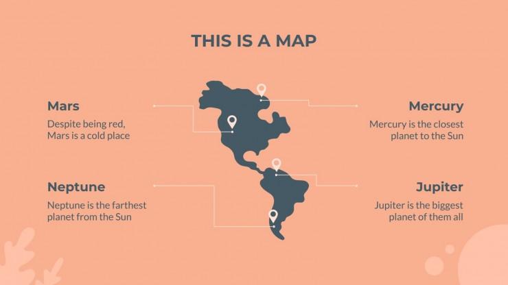 Around the World presentation template