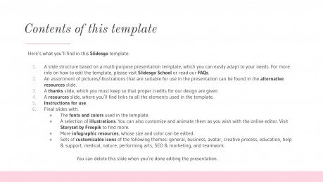 Elegant Fashion presentation template