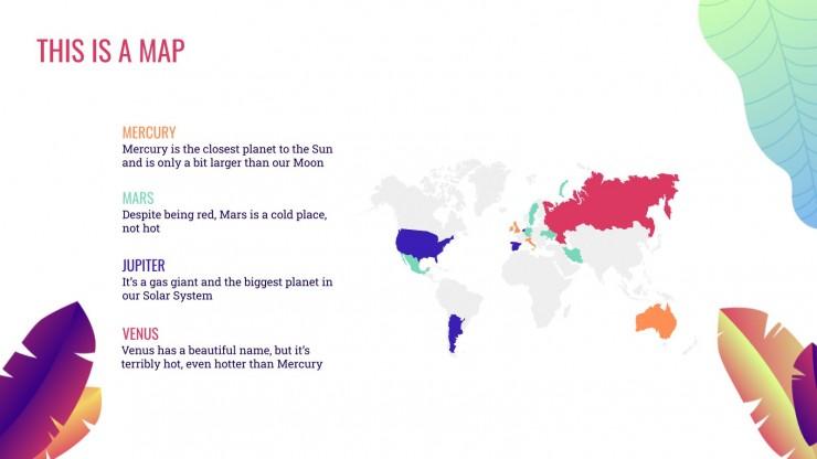 Fleuri : Modèles de présentation