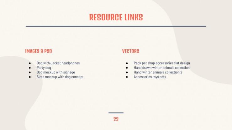 Modelo de apresentação Gestão de marca para pet shop