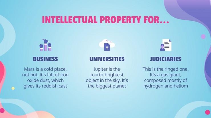 Plantilla de presentación Día Mundial de la Propiedad Intelectual