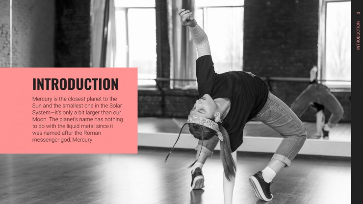 Be Dance Academy presentation template