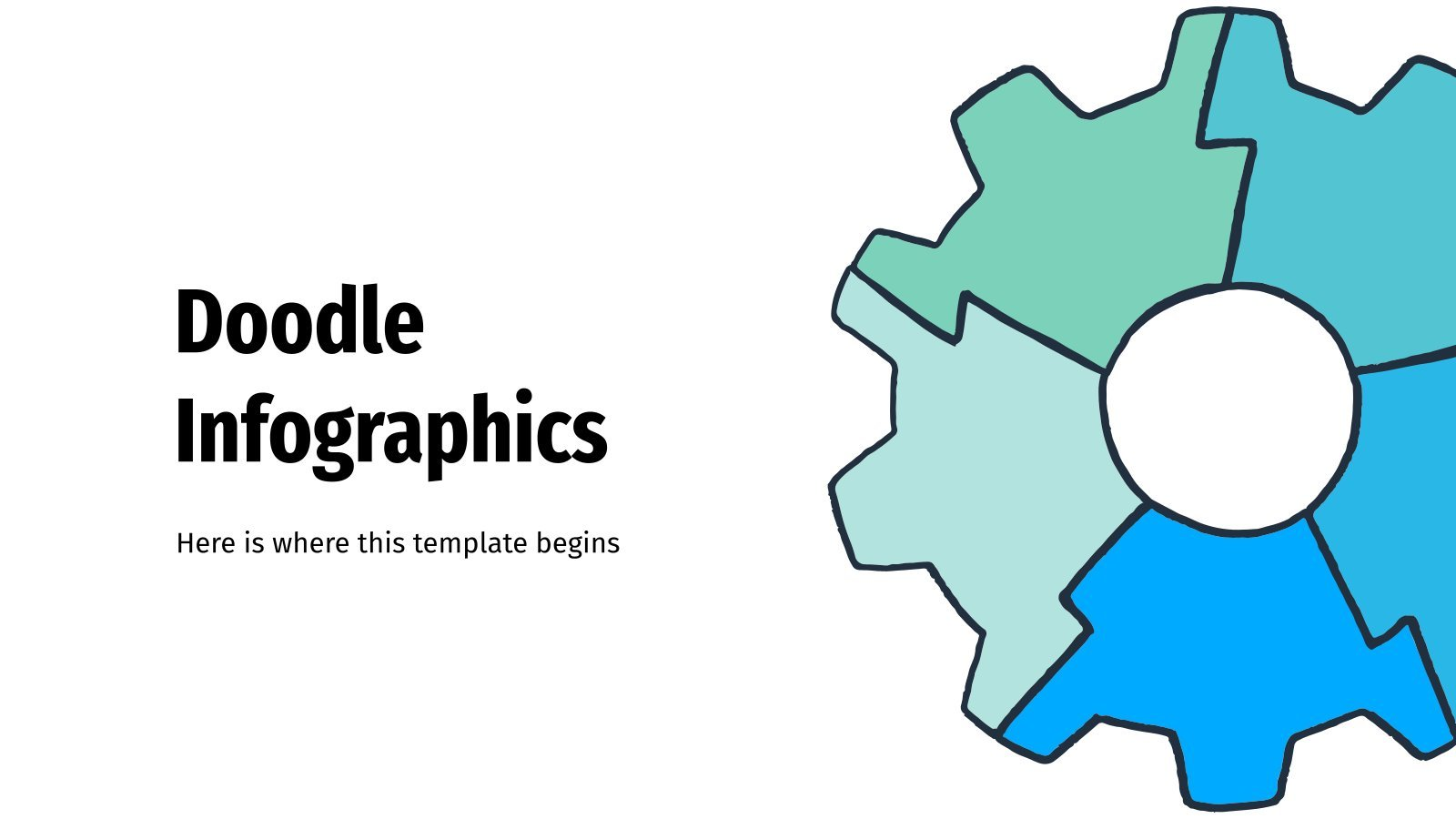 Doodle Infographics presentation template