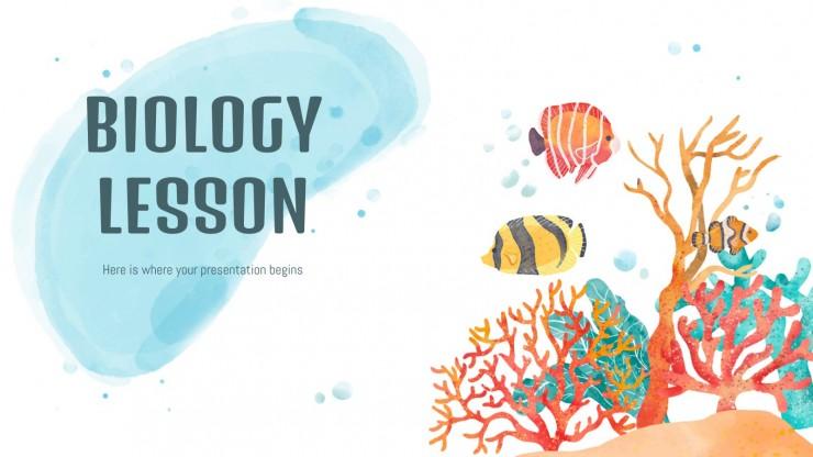 Cours de biologie