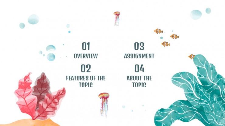 Cours de biologie : Modèles de présentation