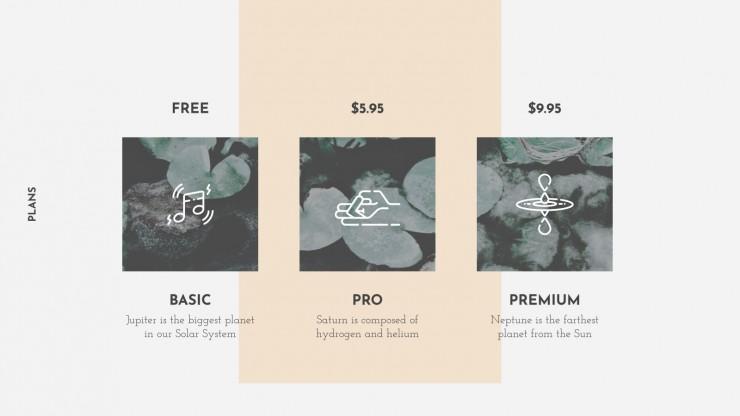 Mindfulness Pitch Deck presentation template