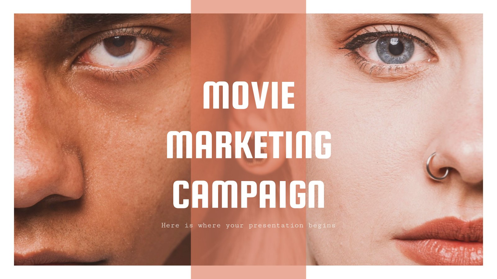 Movie Marketing Campaign presentation template