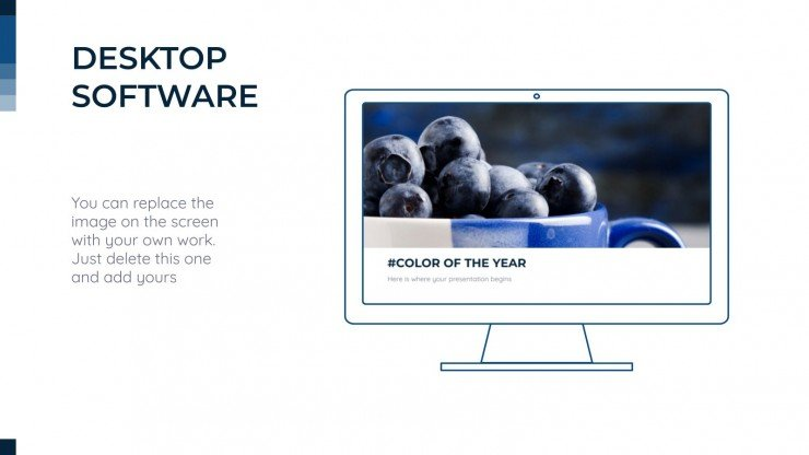 Color of the Year presentation template