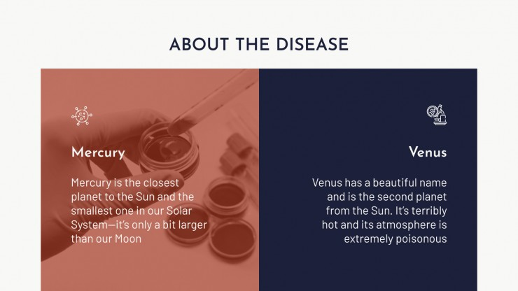 Cancer Disease presentation template