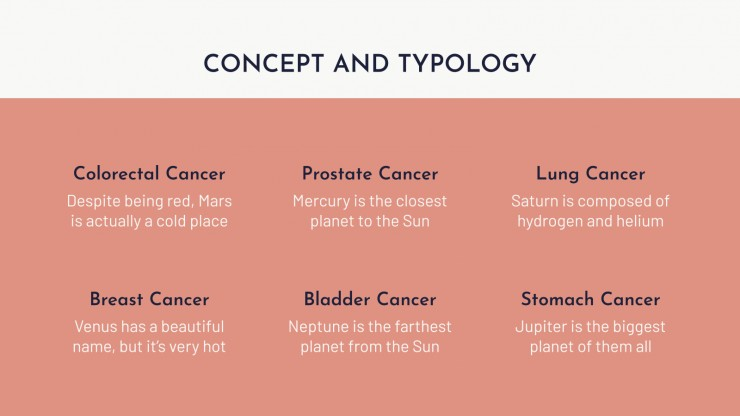 Krebserkrankung Präsentationsvorlage