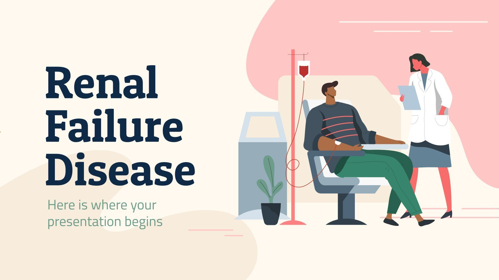 Renal Failure Disease presentation template