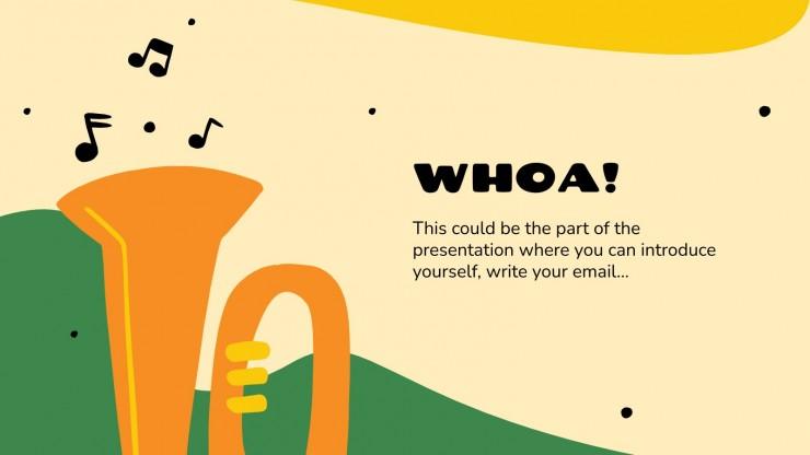 Journée du Tuba : Modèles de présentation