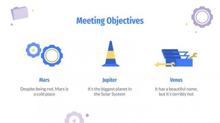 International Worker's Day presentation template