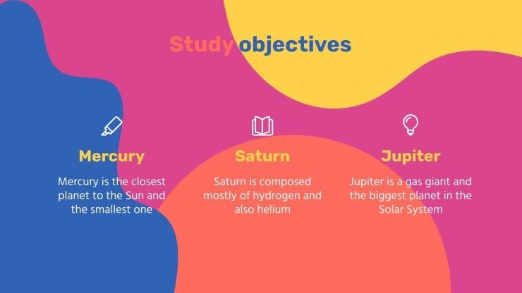 Beautiful Shapes Thesis Defense presentation template