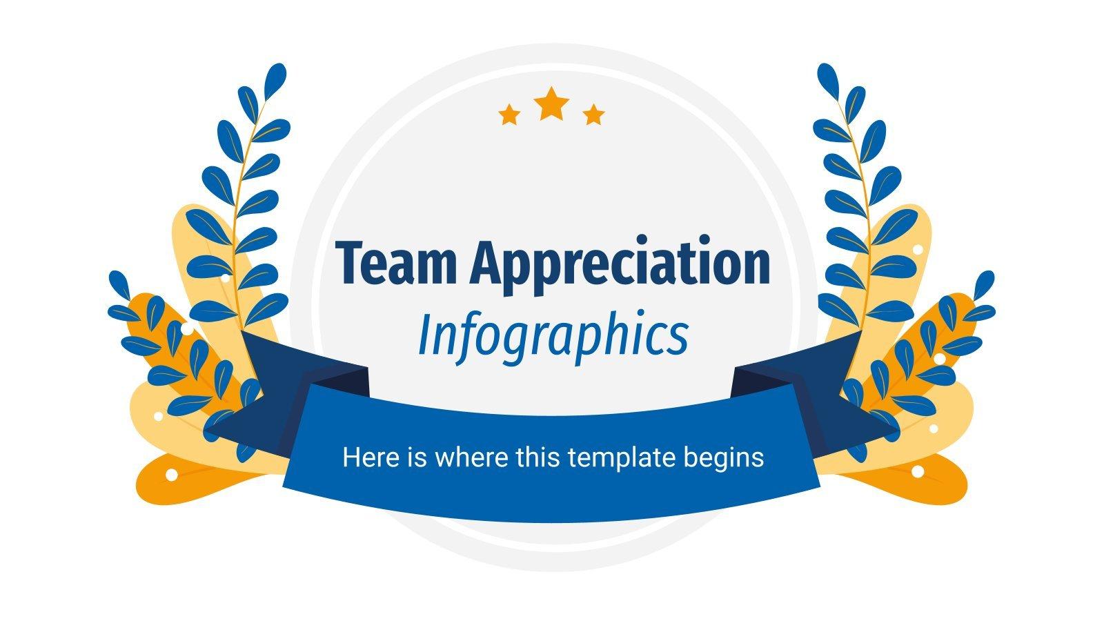 Team Appreciation Infographics presentation template