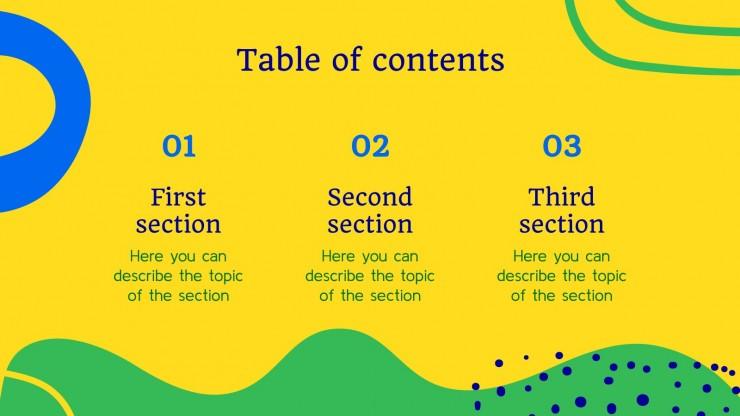 Week of the Inconfidência presentation template