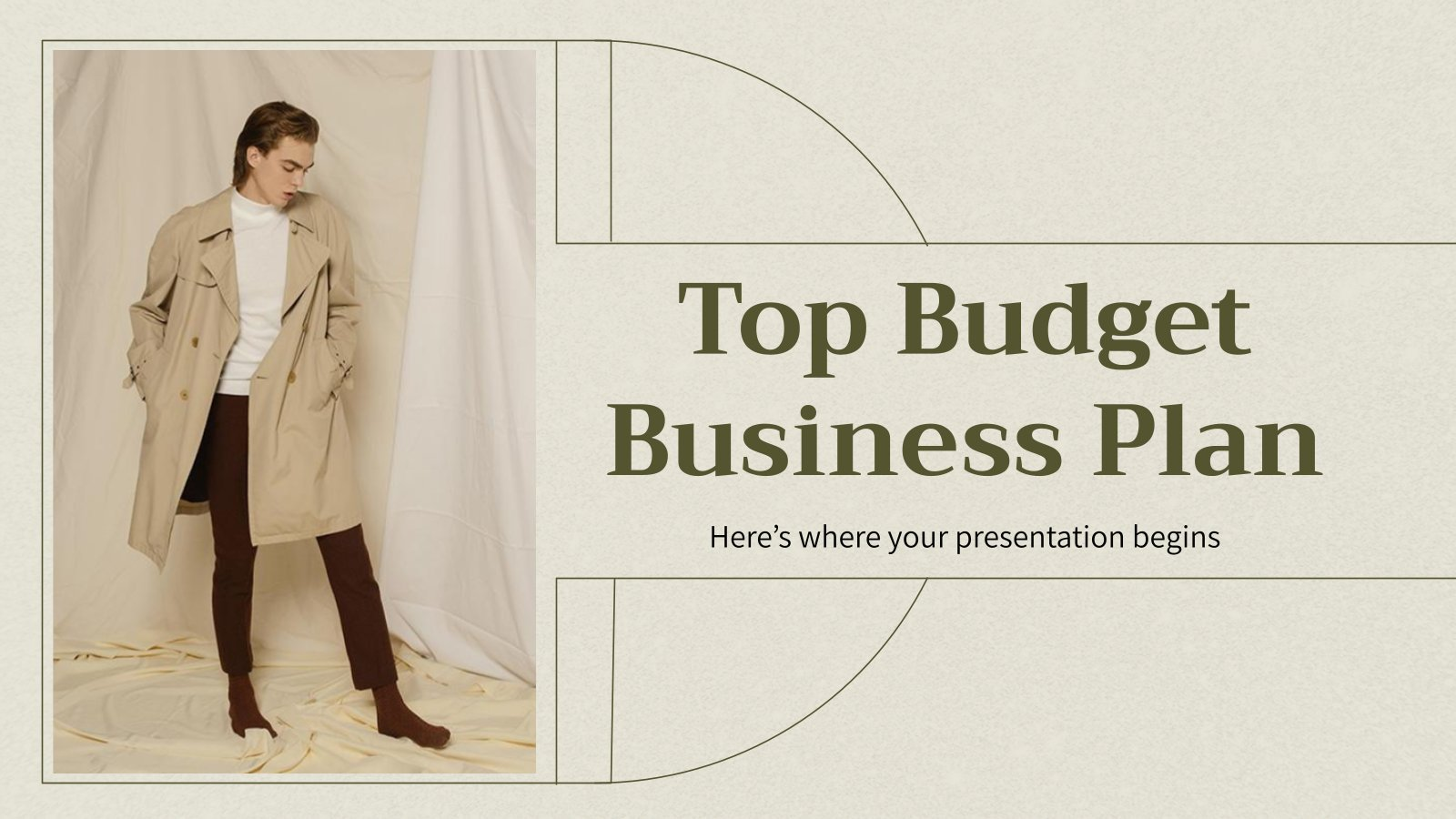 Top Budget Business Plan presentation template