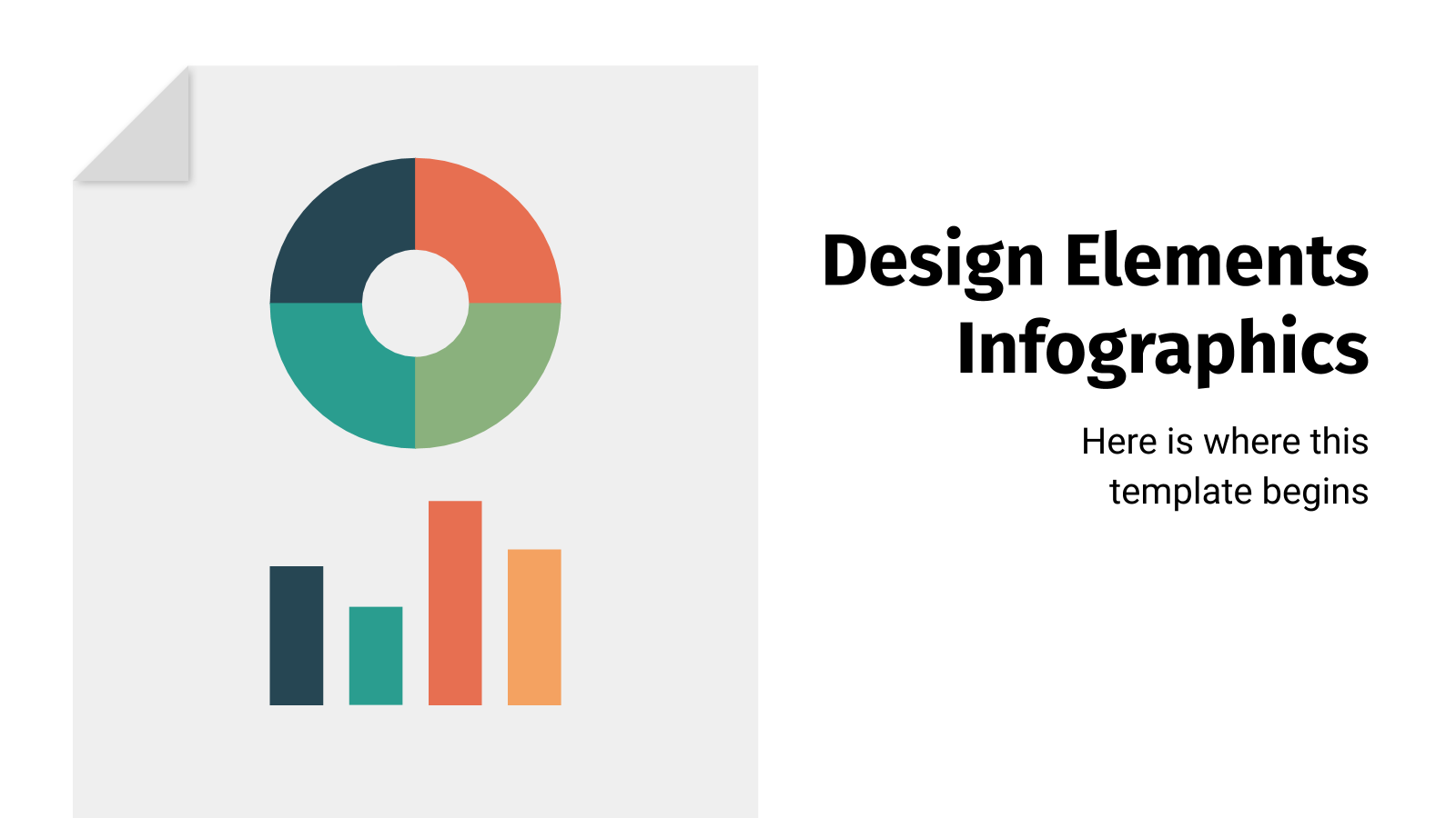 Design Elements Infographics presentation template
