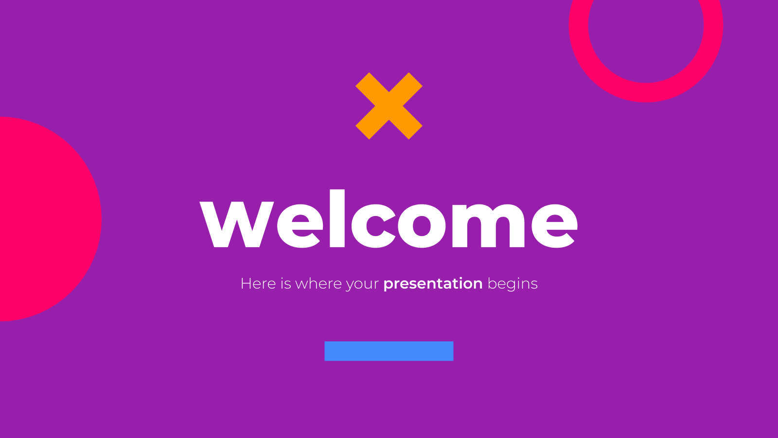 Cool Style presentation template