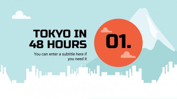 Guide de voyage : Tokyo : Modèles de présentation
