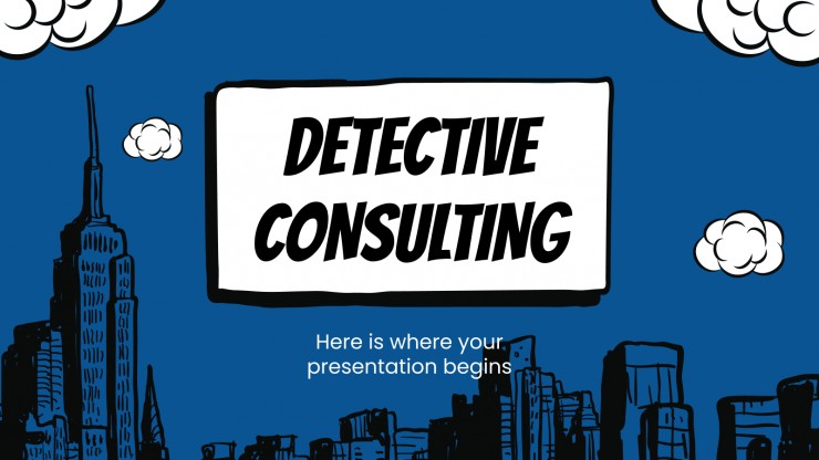 Detective Consulting presentation template