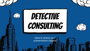 Agence détective : Modèles de présentation
