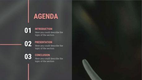 Botanic presentation template