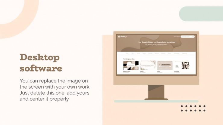 Farm Photographer Portfolio presentation template