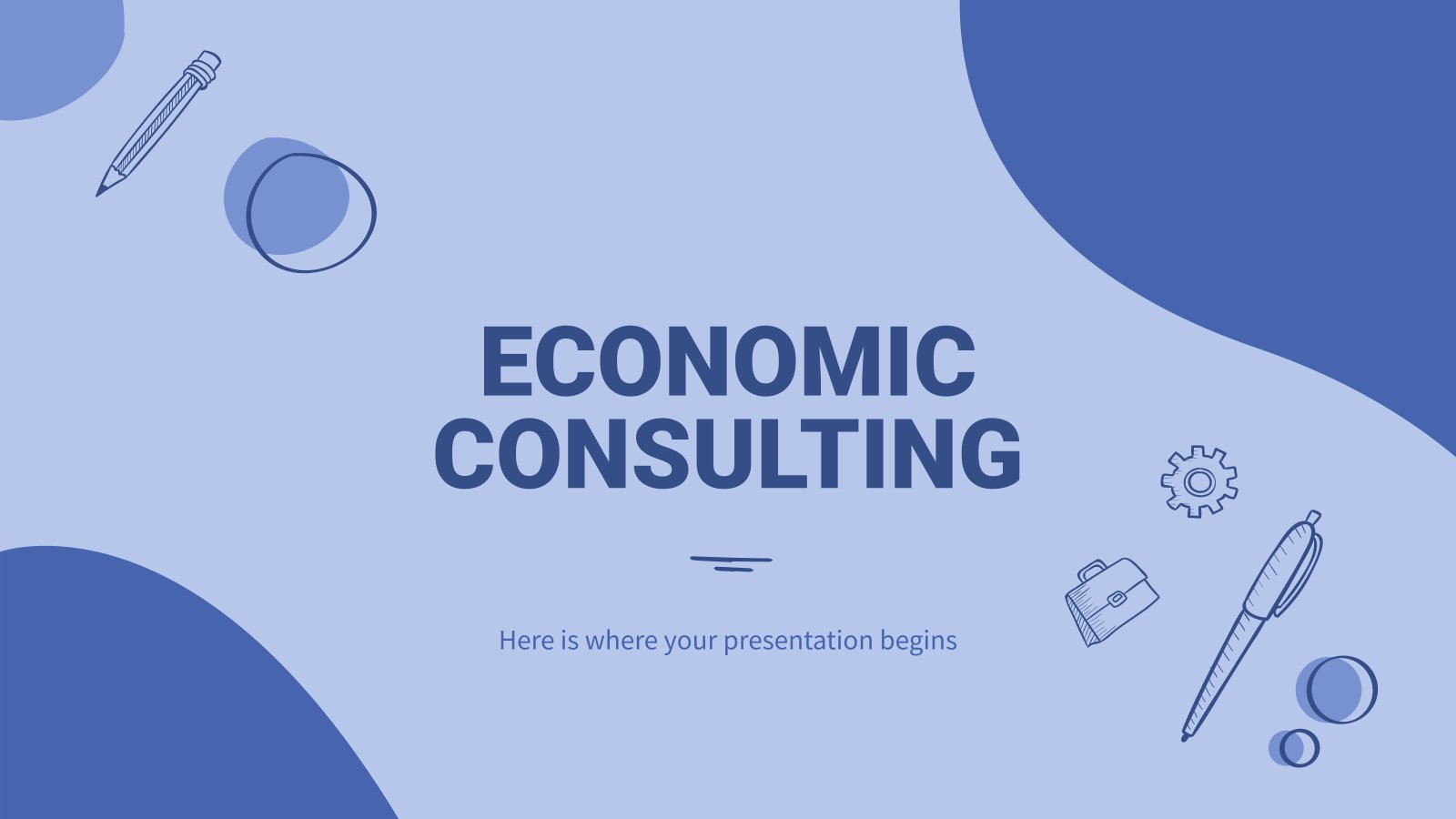 Economic Consulting presentation template